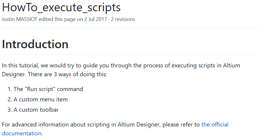 HowTo_execute_scripts, from GitHub